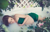 Maternity Milk Bath Session