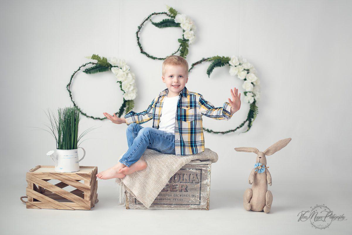 Cute Boys Easter Photos